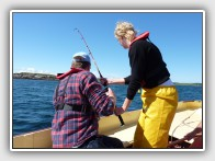 Fishing off the Mull of Kintyre