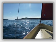 Sailing in Sanda Sound, off the Mull of Kintyre