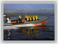 Seatours, fast boat trips and wildlife observing from Campbeltown, Kintyre
